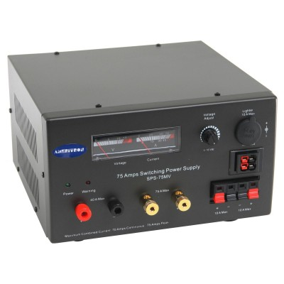 Ameritron power supply SPS-75MV for amateur radio