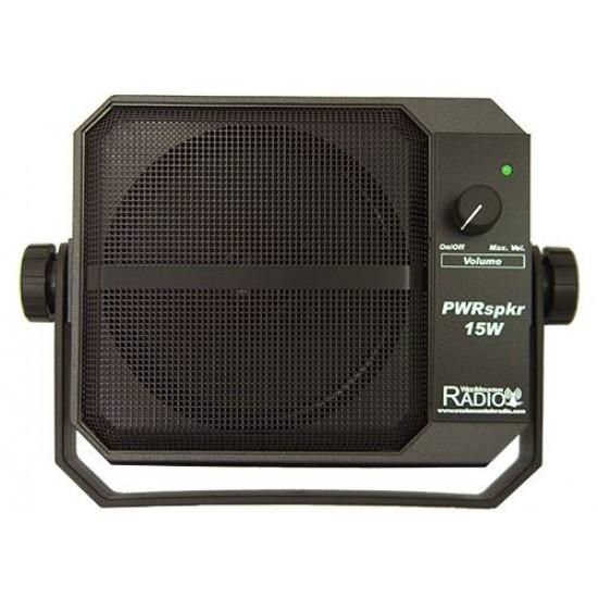 External Speaker PWRSPKR15W for Mobile Amateur Radio