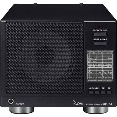External speaker for amateur radio SP-34