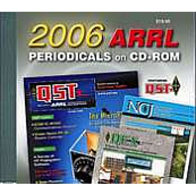 ARRL Periodicals Books on CD-ROM 2006