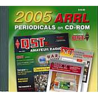 ARRL Periodicals Books CD-ROM 2005