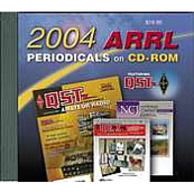ARRL Periodicals Books on CD-ROM 2004