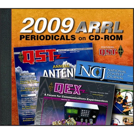 ARRL Periodicals On CD ROM 2009